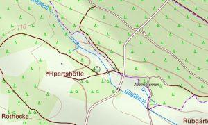 Kartenausschnitt Hilpertshöfle