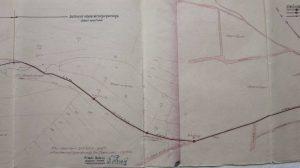 Wasserleitungsplan 1950