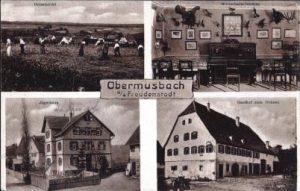 Gasthaus Zum Ochsen von 1910