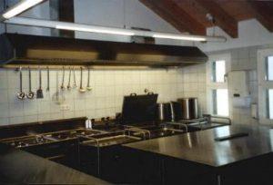 Küche Herdbereich