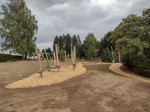 Gaudiplatz fast fertiggestellt im September 2021